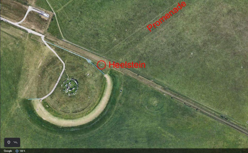 Stonehenge mit Heelstein und Promenade